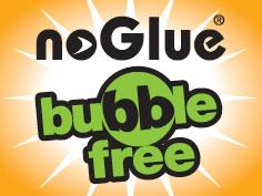 noGlue bubble free